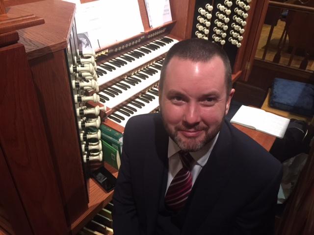 Ben Costello at Epsom College Chapel