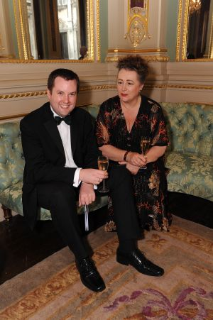 Ben Costello and Alison Pearce at WCM Livery Dinner - June 2009